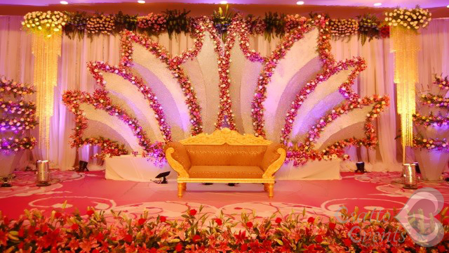 Simple stage decoration ideas for wedding